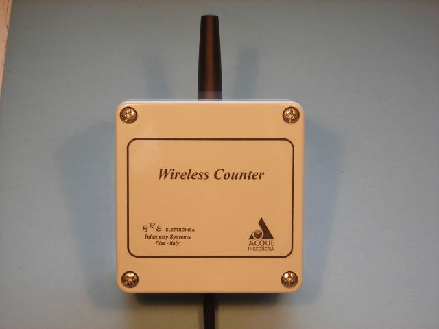 Wireless counter